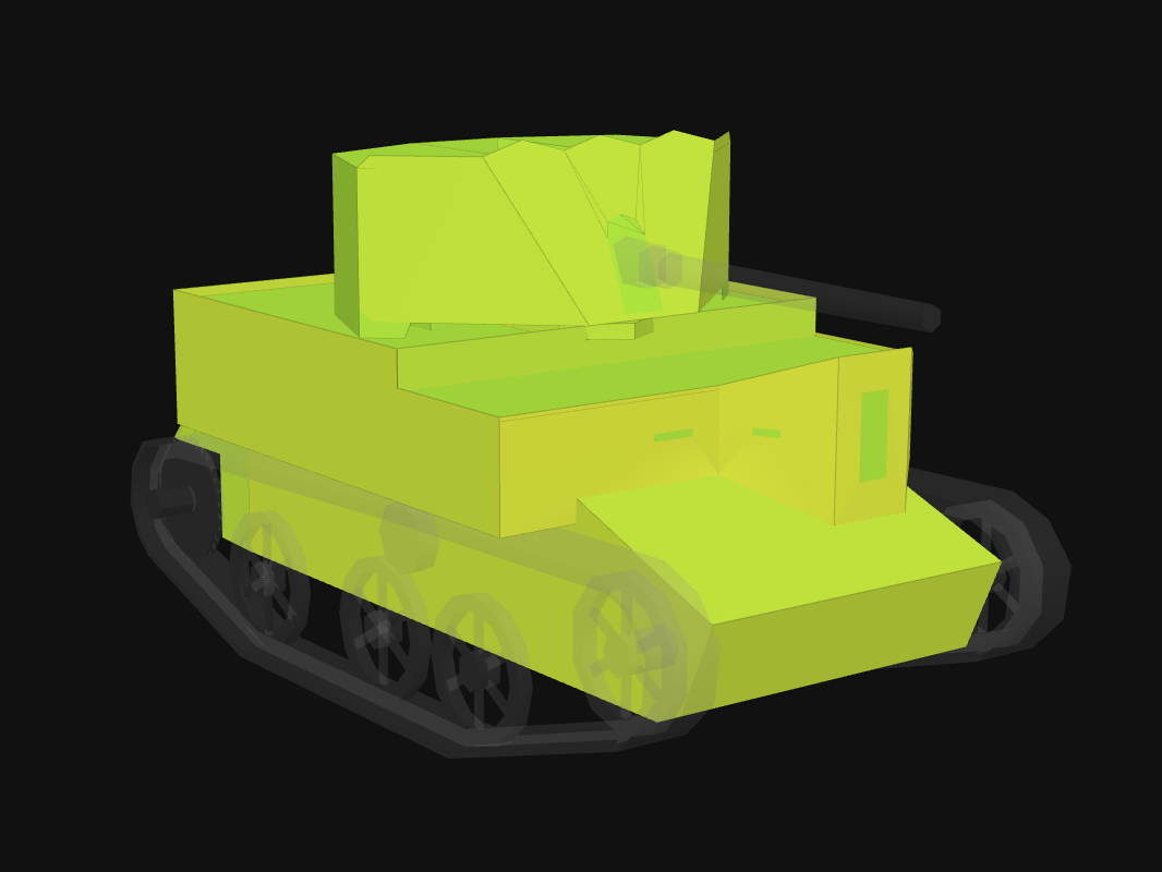 Front armor of UC 2-pdr in World of Tanks: Blitz