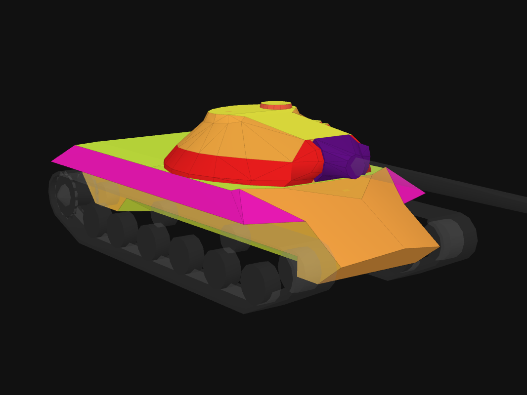 Front armor of IS-3 in World of Tanks: Blitz