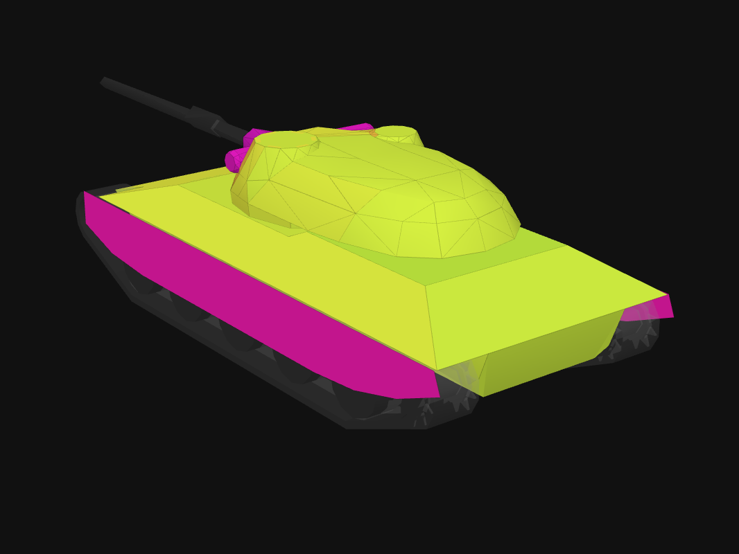 Rear armor of Progetto 65 in World of Tanks: Blitz