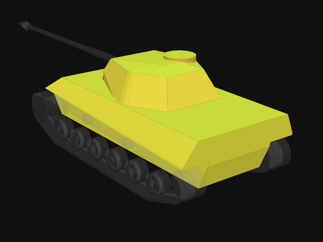 Броня кормы P.44 Pantera в World of Tanks: Blitz