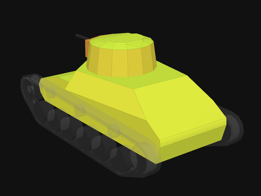 Броня кормы Ke-Ni в World of Tanks: Blitz
