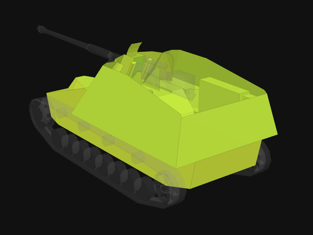 Броня кормы Nashorn в World of Tanks: Blitz