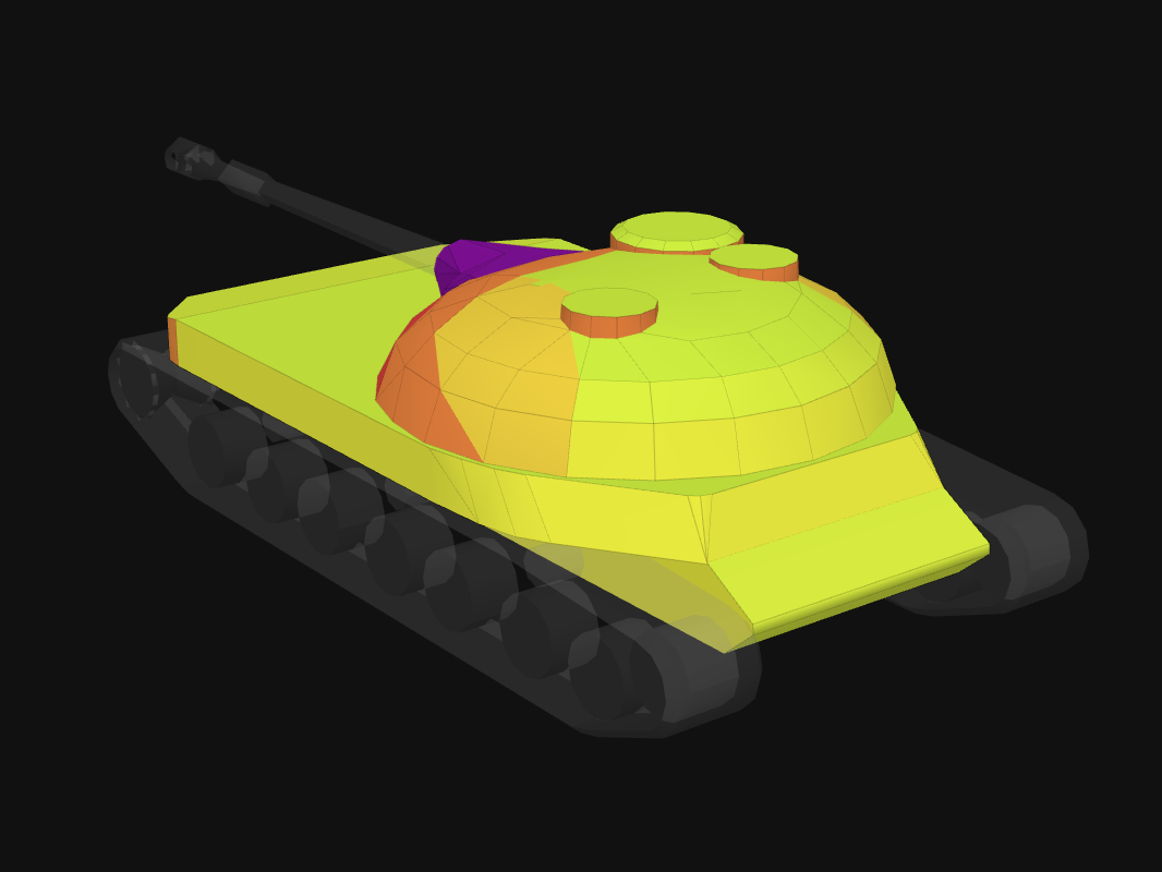 Rear armor of STG in World of Tanks: Blitz