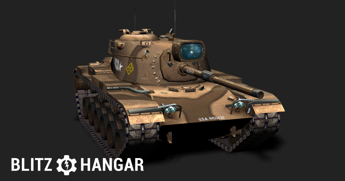 M60 — Tier X American medium tank | Blitz Hangar