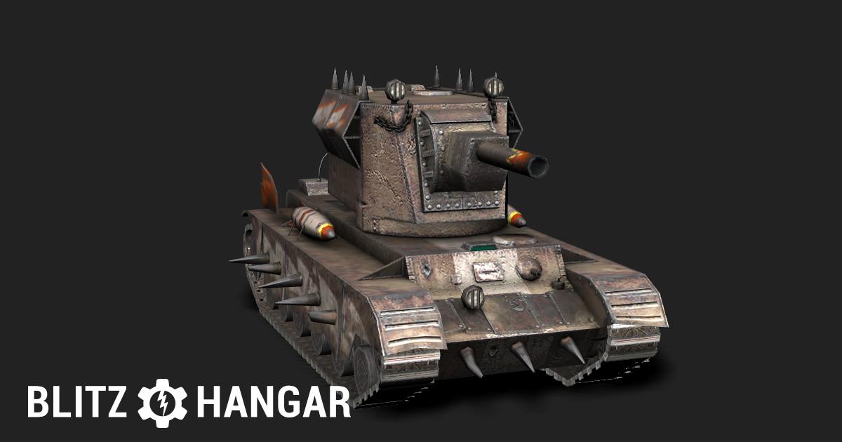 Smasher — Tier VII heavy tank of Hybrid nation | Blitz Hangar