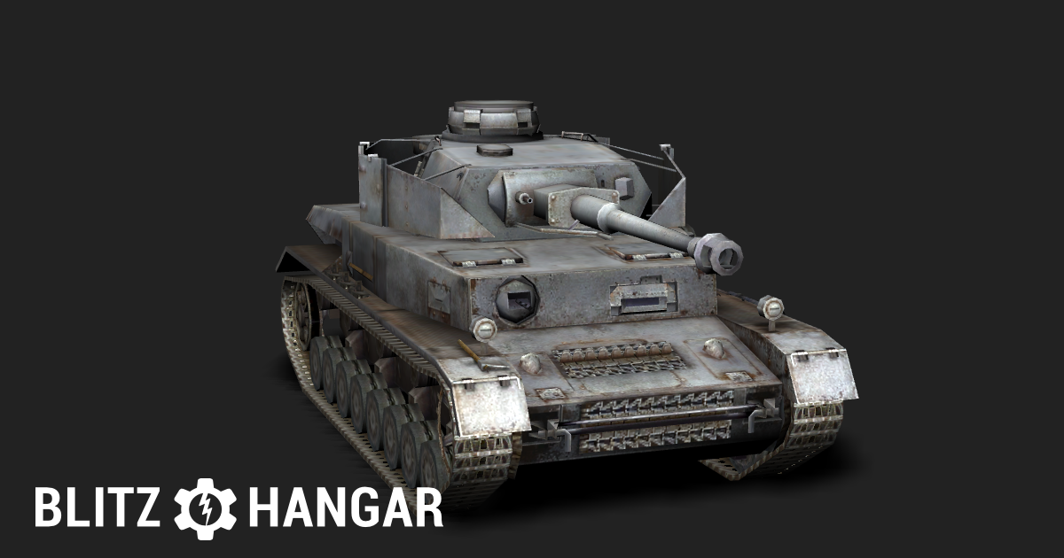 Pz  IV G — Tier V German medium tank | Blitz Hangar