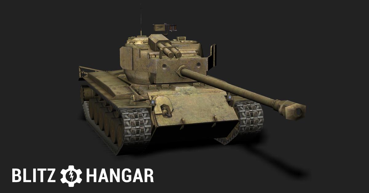 T26E4 — Tier VIII American medium tank | Blitz Hangar